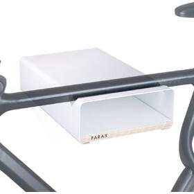 PARAX S-Rack Wandhalterung Aluminium weiß